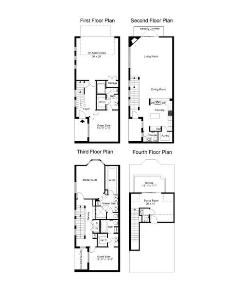 2,936 sq. ft. Waterchase floor plan