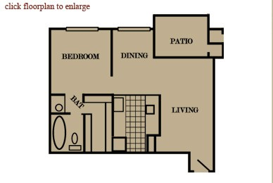 652 sq. ft. floor plan