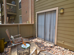 Patio at Listing #139769
