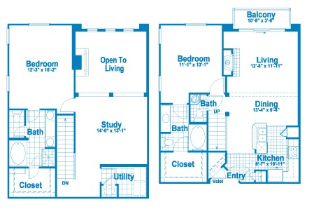 1,562 sq. ft. L3.3 floor plan