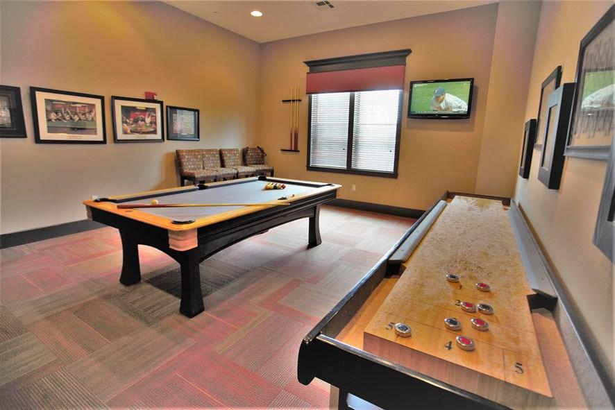 Gameroom at Listing #145762