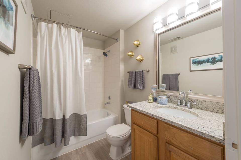 Bathroom at Listing #138004