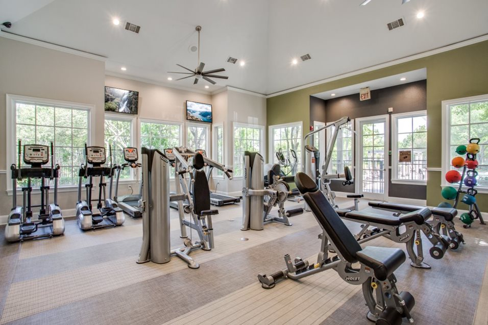 Fitness Center at Listing #137617