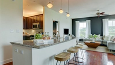 Living/Kitchen at Listing #150239