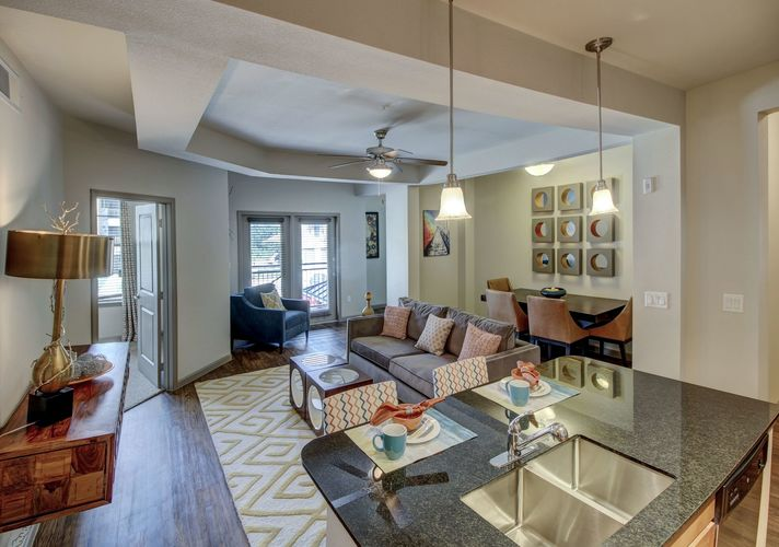 Living/Dining at Listing #240938