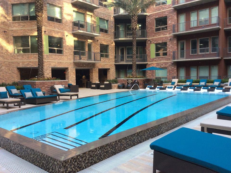 Pool at Listing #240943
