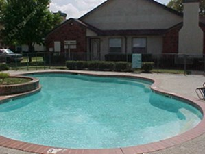 Pool Area at Listing #137745