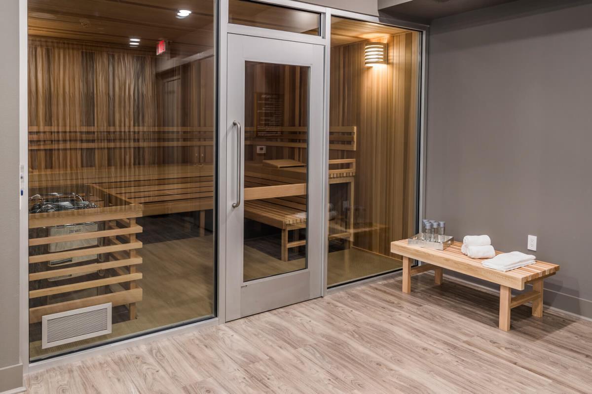 Sauna at Listing #245845