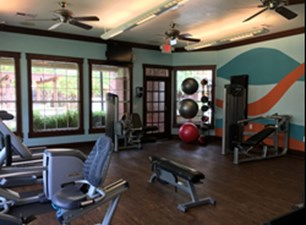 fitness center at Listing #144211