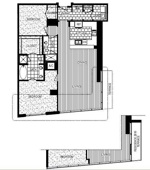 1,487 sq. ft. to 1,818 sq. ft. I floor plan