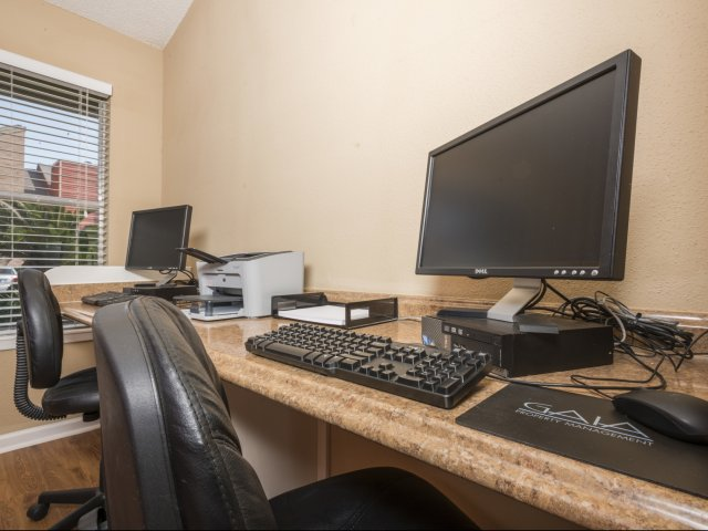 Business Center at Listing #138242