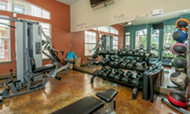 fitness center at Listing #144441