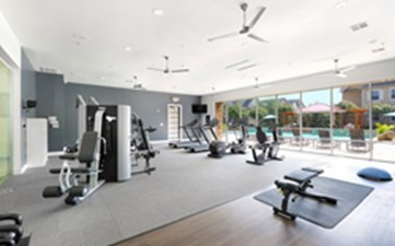 Fitness Center at Listing #143405