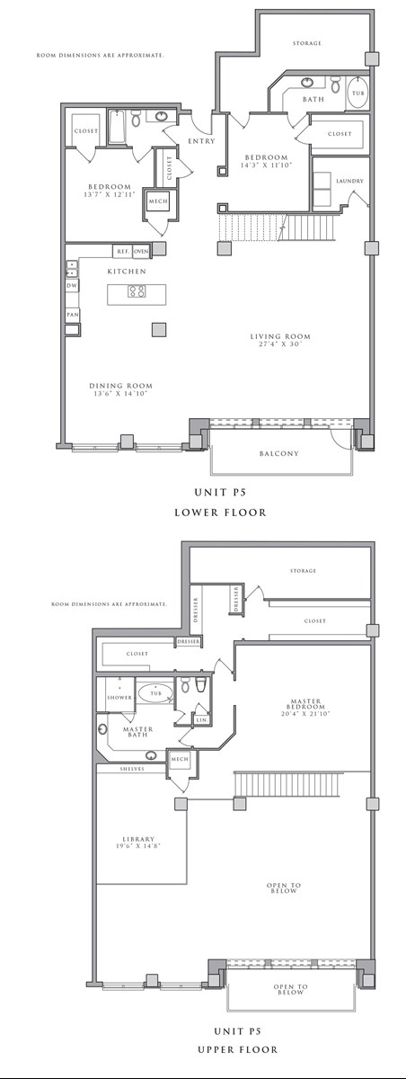 4,192 sq. ft. P5 floor plan