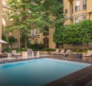 Pool at Listing #137947