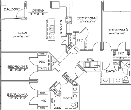 1,548 sq. ft. floor plan