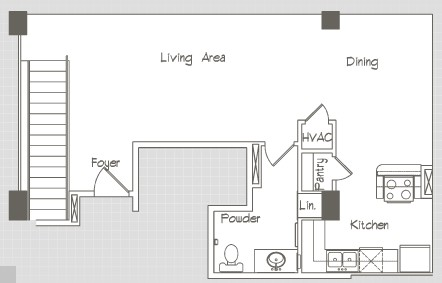 1,512 sq. ft. P11 floor plan