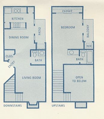 809 sq. ft. Phoenix floor plan