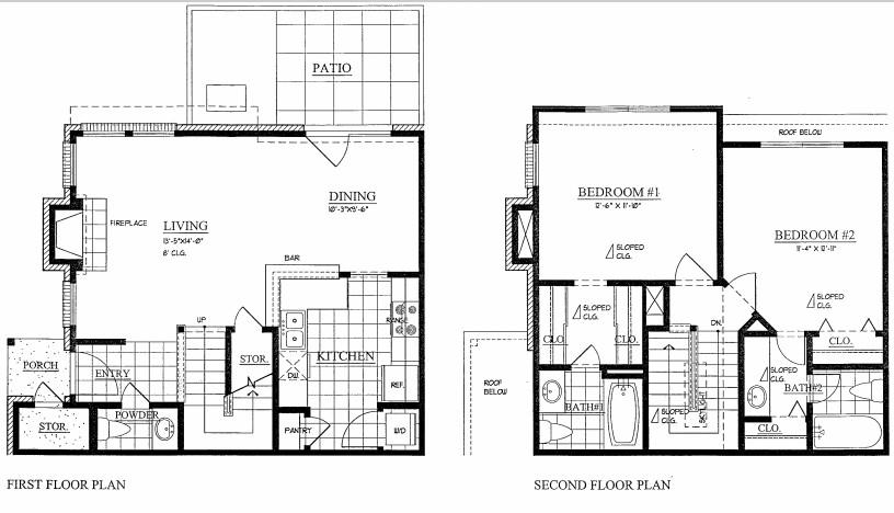 1,141 sq. ft. floor plan