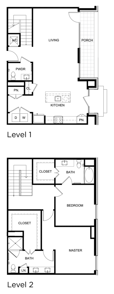 1,712 sq. ft. C6 floor plan