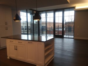 Living/Kitchen at Listing #286415