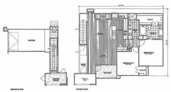 1,278 sq. ft. C4/Senegal floor plan