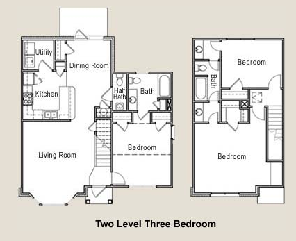 1,499 sq. ft. 50% floor plan