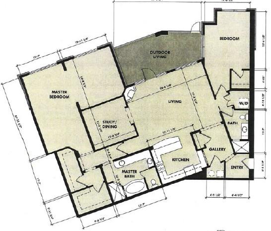2,038 sq. ft. Sabine floor plan