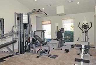 Fitness Center at Listing #144494