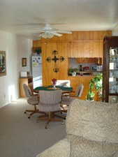 Living/Dining at Listing #215605