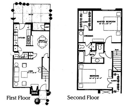 1,257 sq. ft. Riviera Mya floor plan