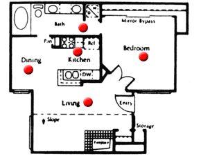 649 sq. ft. floor plan