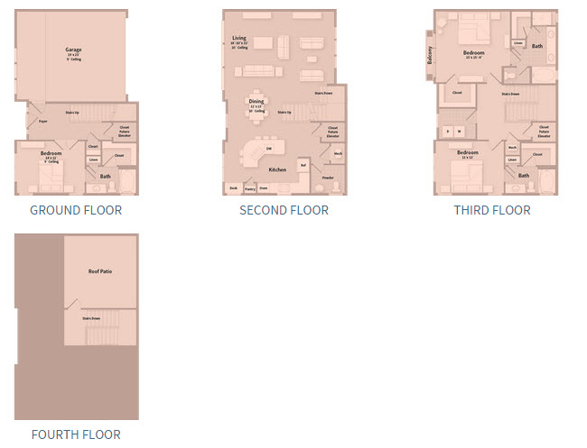 2,600 sq. ft. T2J floor plan