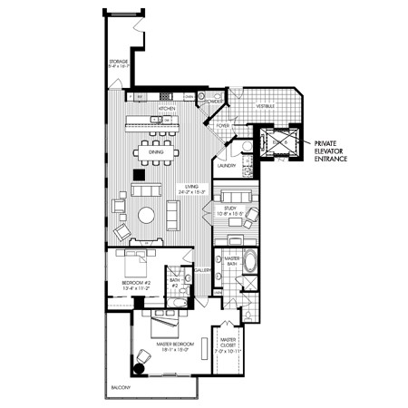 2,497 sq. ft. B13 floor plan