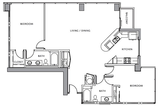 1,469 sq. ft. floor plan