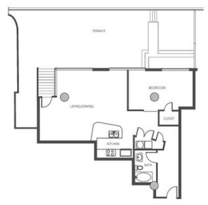 1,347 sq. ft. B4.2 floor plan