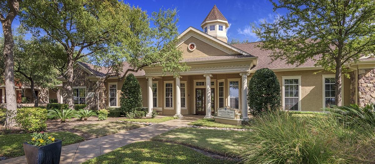 Colonial Grand at Canyon Creek Apartments Austin TX