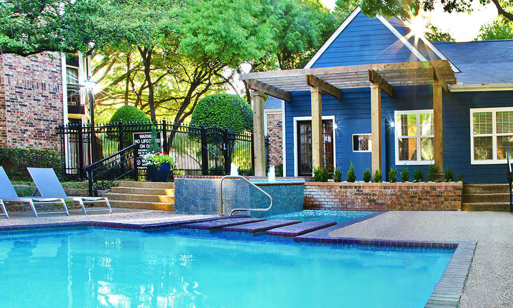 Pool at Listing #135905