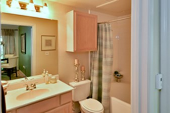 Bathroom at Listing #137585
