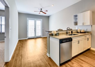 Living/Kitchen at Listing #137744