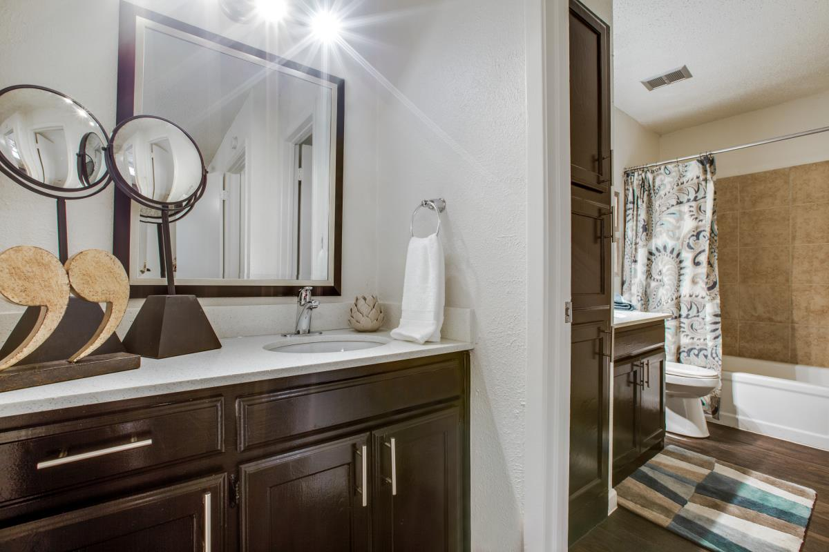 Bathroom at Listing #136874
