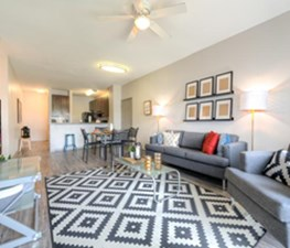 Living/Dining at Listing #224272