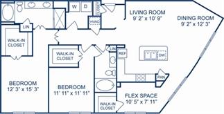 1,637 sq. ft. Vienna floor plan
