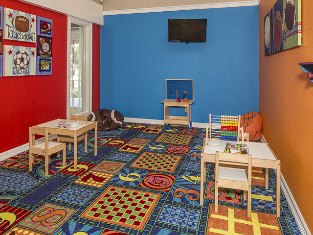 Playroom at Listing #135848