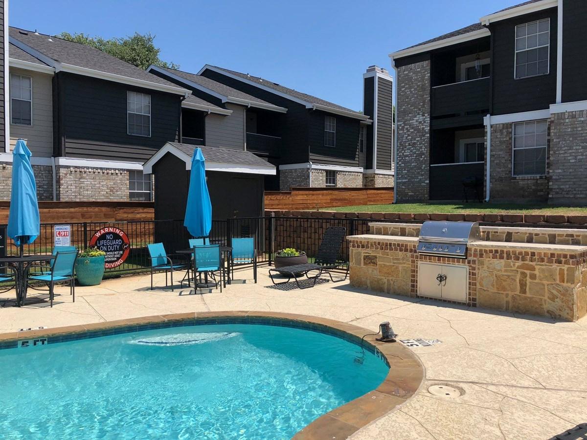 Pool at Listing #136788