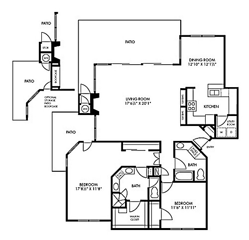 1,485 sq. ft. to 1,582 sq. ft. Grand floor plan