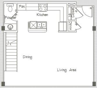 1,319 sq. ft. P4 floor plan