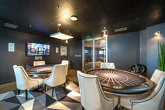 Gameroom at Listing #144657