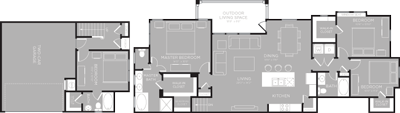 1,917 sq. ft. Yellowstone floor plan