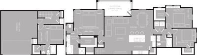 1,917 sq. ft. Yellowstone floor plan